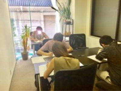 【追加枠】会社帰り2/28(水)18:00~のペン字・筆ペン・書道夜クラスに参加してみませんか?