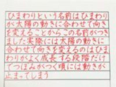 デジタル化が進んでいく世の中であっても、貴重な「美しい文字を書きたい」かたへ♡